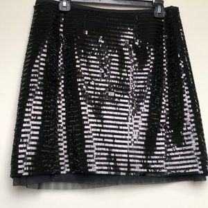 WORTHINGTON Black Sequin Skirt
